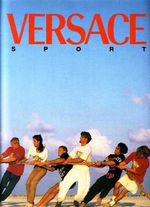 Versaci, Gianni - Doug Ordway, photography - - Versaci Sport. Collezione Versaci Sport Primavera Estate 1994. Nr 4. [Photography: Ordway]