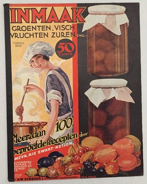 Zwart-Ketjen, Rie, - Inmaak. Groenten, visch, vruchten, zuren, enz. Meer dan 100 beproefde recepten