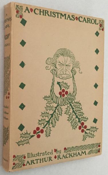 Dickens, Charles, Arthur Rackham, illustrations, - A Christmas carol. [Reprinted ed. 1952]