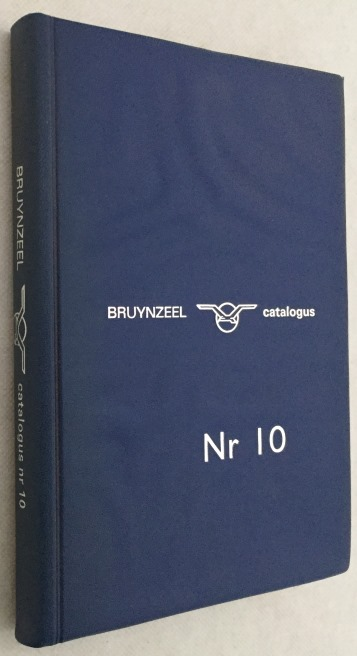 Zwart, Piet, ontwerp - Bruynzeel bv - - Bruynzeel bv. Catalogus nr 10. [Design Piet Zwart]